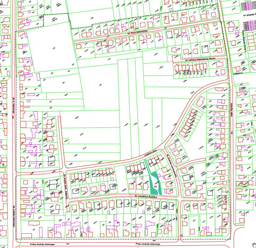 Detaljni plan uređenja Sjever I - 1.dio - izmjena