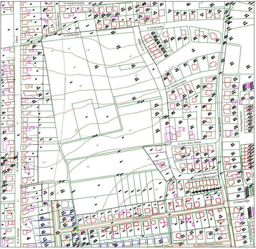 Detaljni plan uređenja Sjever I - 2. dio