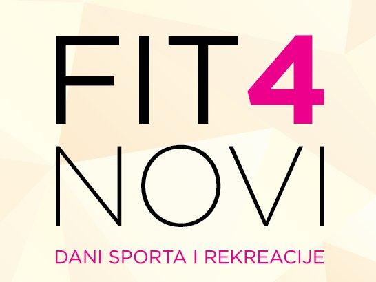 FIT4Novi - Dani sporta i rekreacije