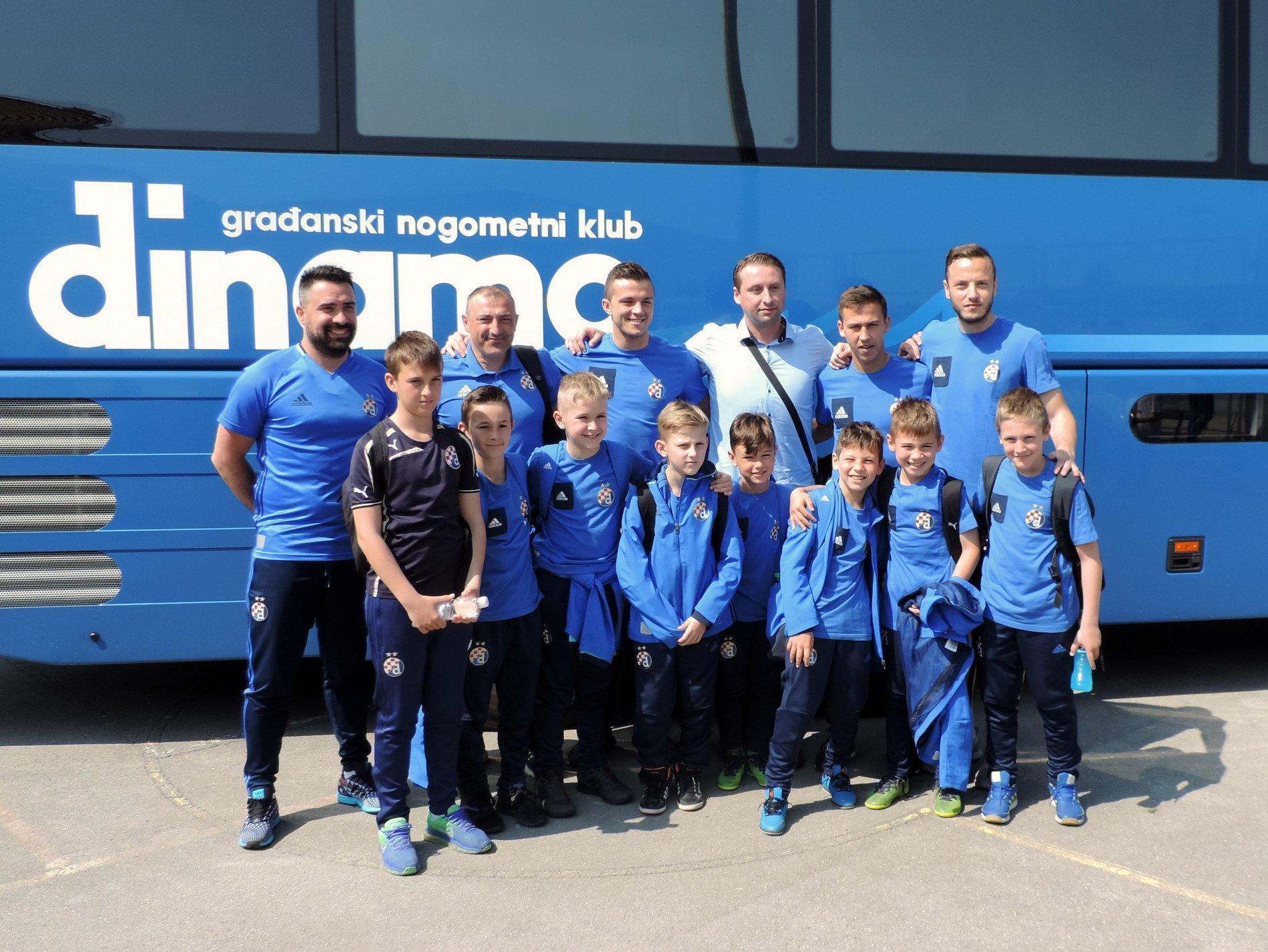 GNK Dinamo na gostovanju u Bjelovaru